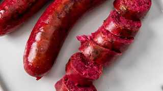 'beetroot boerewors'. Picture: Soweto Food & Lifestyle/Twitter