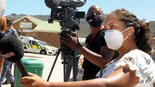 eNCA journalist Monique Mortlock shared her experience of the assault she experienced. Picture: Tracey Adams/African News Agency (ANA)