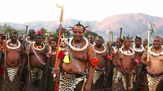 eSwatini King Mswati III, is accused of calling the nation to Sibaya in contravention of the country's Covid-19 gathering rules. File picture: Siphephile Sibanyoni/ African news Agency (ANA)