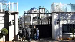 the controversial Gupta mansion in Saxonwold. The writer poses the question: Who else helped the Guptas to accomplish their mission in state capture? Photo: Simone Kley/African News Agency (ANA)