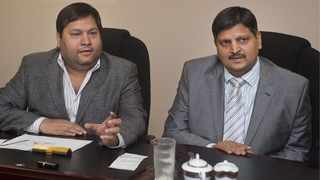 Gupta brothers, Ajay and Atul. Gupta-owned Oakbay Investments has until March 25 to oppose a liquidation application lodged at the High Court in Johannesburg. File Photo: IOL