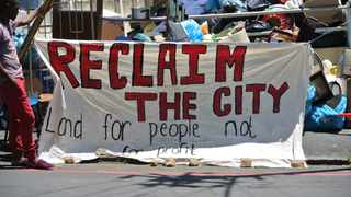 In October, the City brought an urgent application interdicted housing activist movement Reclaim the City from hosting an event at Woodstock hospital. Photo: African News Agency (ANA)