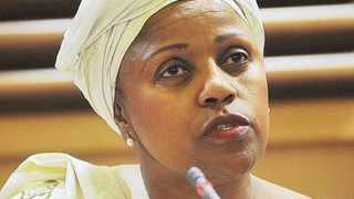 Dudu Myeni. File photo: ANA