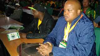 ANC Youth League leader Collen Maine. Photo: ANA.