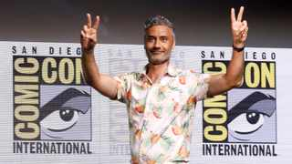 "Director of the movie Taika Waititi at a panel for ""Thor: Ragnarok"" during the 2017 Comic-Con International Convention in San Diego, California, U.S., July 22, 2017. Picture REUTERS/Mario Anzuoni"