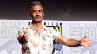 """Director of the movie Waititi at a panel for """"Thor: Ragnarok"""" during the 2017 Comic-Con International Convention in San Diego. Picture: Reuters"""