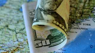 FILE PHOTO: Illustration photo of a U.S. Dollar note