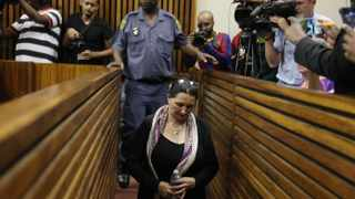 Convicted racist Vicky Momberg said the k-word 48 times at police officers, she was sentenced to two years imprisonment and one year suspended at the Randburg Magistrate Court. Picture: Nhlanhla Phillips/African News Agency/ANA