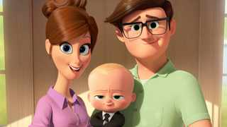 A scene from the recent animated film The Boss Baby. Picture: (DreamWorks Animation/AP