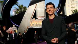 Tom Holland at the premiere of 'Avengers: Infinity Wars' - Arrivals - Los Angeles, California. Picture: Reuters