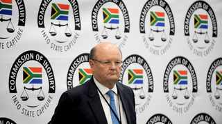 Standard Bank's retired head of legal, Ian Sinton has returned to the state capture commission of inquiry to testify. Picture: Nokuthula Mbatha/African News Agency(ANA)