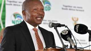 South Africa's Deputy President David Mabuza chaired the inaugural meeting of the inter-ministerial committee on district level service delivery. Picture: GCIS