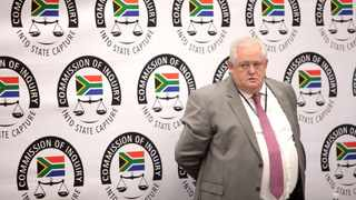 Bosasa's former COO Angelo Agrizzi is seen on his final day of testifying at the State Capture Commission of Inquiry in Parktown. Picture: Nhlanhla Phillips/African News Agency(ANA)