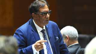 Dr Iqbal Survé at the Commission of Inquiry into the Public Investment Corporation (PIC) in Pretoria. Picture: Karen Sandison/African News Agency(ANA)