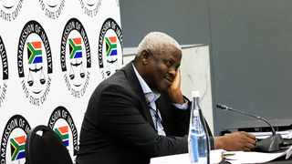 Former Free State MEC Mxolisi Dukwana appears before the commission of inquiry into allegations of state capture. Picture: Dimpho Maja/African News Agency(ANA)