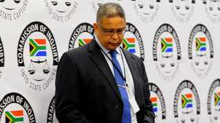 Former Independent Police Investigative Directorate (IPID) head Robert McBride at the state capture inquiry. File photo: Bhekikhaya Mabaso / African News Agency (ANA)