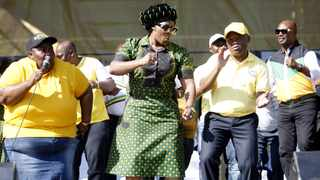 ANC KZN chairperson Sihle Zikalala at the party's pre-election rally. Picture:Doctor Ngcobo/African News Agency(ANA)