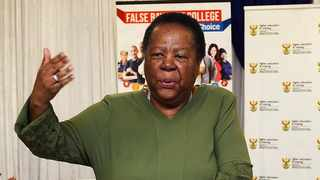 International Relations Minister Naledi Pandor. Picture: Phando Jikelo/African News Agency(ANA)