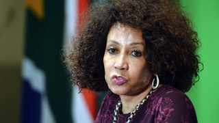 Minister of International Relations and Cooperation Lindiwe Sisulu. Picture: Oupa Mokoena/African News Agency (ANA)