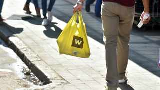 South Africa - Pretoria - 17 May 2019 - Woolworths plastic bags. Picture: Bongani Shilubane/African News Agency(ANA). The JSE-listed retailer said David Jones had impaired A$437.4 million in the year to June resulting in the valuation falling to A$965m.