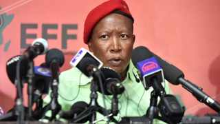Economic Freedom Fighters(EFF) leader Julius Malema. File photo: Itumeleng English/African News Agency (ANA).