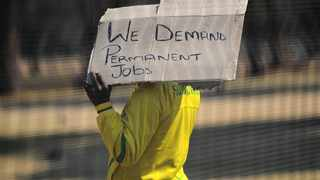 South Africa's official unemployment numbers as announced by the national statistics agency this week, although alarming, still paint a rosier picture than the reality many people experience, labour union Solidarity said on Thursday. Picture: Phill Magakoe