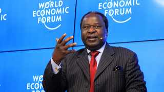 Finance Minister Tito Mboweni told the WEF on Africa that the majority of South Africans were against xenophobia. Picture: Dimpho Maja/African News Agency(ANA)