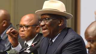 Minister of Police, Bheki Cele highlighted that businesses still operated in a danger zone. Photo: Phando Jikelo/African News Agency (ANA)