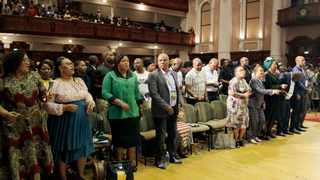 Attendees at an earlier Robert Mugabe memorial lecture delivered by former president Thabo Mbeki. File picture: Sibonelo Ngcobo/African News Agency(ANA).