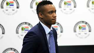 Former president Jacob Zuma's son, Duduzane testify at the State Capture commission of inquiry in Parktown. Picture: Dimpho Maja/African News Agency(ANA)
