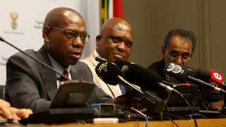 Dr Zweli Mkhize Minister of Health during a media briefing  Pictures: Brendan Magaar/African News Agency(ANA)