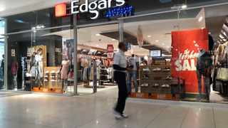 South Africa - Johannesburg - 15 August 2019 - FILE - A shop front of an Edgars store, part of the Edcon group. Picture: Karen Sandison/African News Agency (ANA)