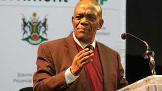 Job Mokgoro is the best man to lead North West says Nafcoc. Picture: ANA