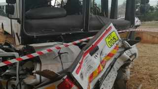 Gravelotte police are investigating the fatal accident in which two men died and 81 other people were injured on the R71 between Tzaneen and Phalaborwa in Limpopo early on Saturday morning. Photo: SAPS