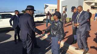 Police Minister Bheki Cele was back in Port Elizabeth on Thursday to visit hotspots in the area. Picture: Raahil Sain / ANA
