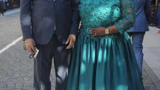 Deputy Correctional Services Minister Patekile Holomisa and wife Namhla at Parliament. File photo: Ayanda Ndamane/African News Agency (ANA)