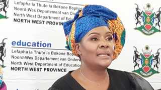 North West Education MEC, Mmaphefo Matsemela says schools must follow the standard operating procedures whenever they report cases of Covid-19. Picture: Molaole Montsho/African News Agency (ANA)