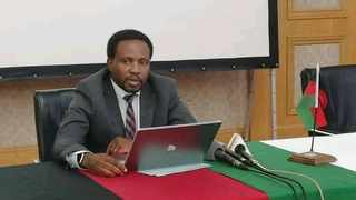 Chairman of Malawi's presidential task force on Covid-19 John Phuka says the country has recorded 1,818 Covid-19 cases. Photo:Facebook/Malawi Government