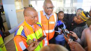 Johannesburg - Mayor Herman Mashaba on Thursday said the #JoburgFire has been put out but government doesn't have money to rejuvenate any of the over 500 dilapidating buildings in the Joburg inner city. Picture:Bhekikhaya Mabaso African News Agency (ANA)