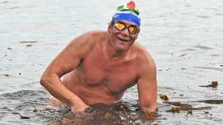The late long-distance swimmer Theodore Yach  Photo: Jason Boud / African News Agency (ANA)