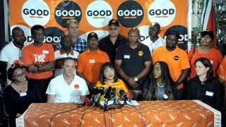 "Patricia de Lille unveiled the interim national leadership committee of her new political party ""Good"" on Sunday morning. Picture: Armand Hough / African News Agency (ANA)"