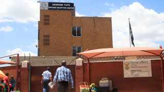 The Desmond Tutu refugee reception centre in Marabastad, Pretoria, where a man died. Picture: Jacques Naude/African News Agency (ANA)