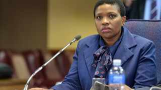 Suspended NPA official, Advovate Nomgcobo Jiba, gives evidence before the Mokgoro Commission of Inquiry into her fitness to hold office. PHOTO: Oupa Mokoena/African News Agency (ANA)