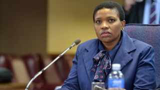 Axed NPA official Advocate Nomgcobo at the Mokgoro inquiry. File picture: Oupa Mokoena/African News Agency (ANA).