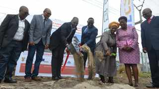Goodwood housing project will provide accommodation to 1055 households, Sod turning event. Picture: Courtney Africa/African News Agency