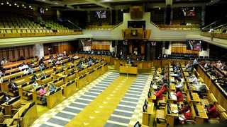 Inside the National Assembly in Cape Town. Photographer Ayanda Ndamane African News Agency (ANA)