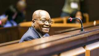 Former president Jacob Zuma appeared in the Pietermaritzburg High Court to face charges of fraud, corruption, money laundering and racketeering. Picture: Leon Lestrade/African News Agency (ANA)