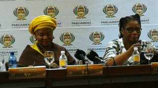 National Assembly Speaker Baleka Mbete and National Council of Provinces chairwoman Thandi Modise said they are not expecting any disruptions to the 2019 State of the Nation Address. Picture: Chantall Presence/African News Agency (ANA)