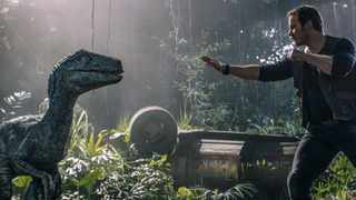 """This image released by Universal Pictures shows Chris Pratt in a scene from, """"Jurassic World: Fallen Kingdom"""". Picture: AP"""