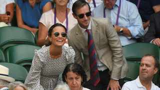 """Pippa Middleton's son is undergoing """"osteopathic therapy"""". Picture: Reuters"""